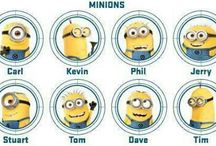 Minions  / by LuAnn Aldred