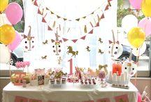 Xanthi 's unicorn party