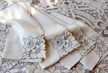 Elegant Lace Tablecloth Vintage