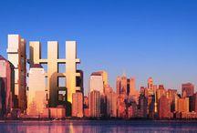 RM 2002 World Trade Center Memorial Square Competition New York, New York / RICHARD MEIER