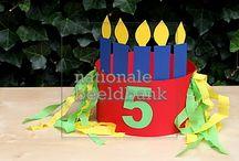 Verjaardagen en feest