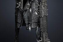 Studded / Studded leather jacket ideas