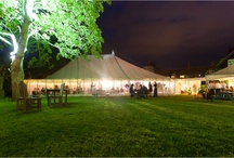 Outdoor and Marquee Wedding Receptions