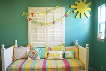 Toddler bedroom / by Maia Nolan-Partnow