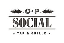 OP Social Tap and Grille / O.P. Social is locally owned and operated, here in our hometown of Orchard Park, New York. We are proud to serve an extensive menu of favorite entrees, small plates and sandwiches, plus a selection of artisanal pizzas, baked fresh in our brick oven. Enjoy a drink from our bar, now serving a rotating selection of craft beers on tap, many of which are locally brewed.