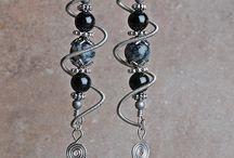 wire orecchini