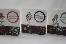 Karten Ideen ,Für dich , Freundschaft , Nettigkeiten , Stampin´Up!