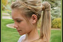 Leah hair