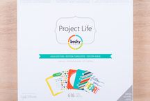 Aqua Edition Project Life / Layouts and ideas using the Aqua Edition Project Life Core Kit by Becky Higgins / by Becky Higgins LLC