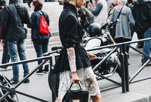 Krajky, inspirace jak nosit - Nana Vogue
