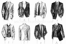 Drawing clothes Male