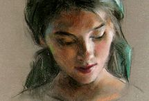 pastel painting