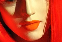 Redshoo Faces / Female faces that speak of stories to behold through their eyes.