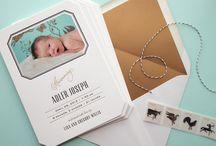Design - Birth Announcements & Children's Stationery