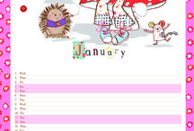 Emily Button Calendar Download / Download a monthly Emily Button calendar to organise your adventures.  / by Emily Button