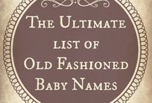 List of Baby Names / group of Baby Name Listed Pinned