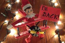 Elf on the shelf ideas / by Jamie Sickles-Burns