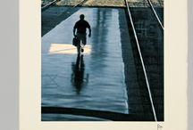 Vías / Serie de setenta y cinco grabados. Firmados y numerados a mano. Grabador Santiago Roldán. Para la firma Titulización de Activos, Sociedad Gestora de Fondos de Titulización, S.A., (TdA)