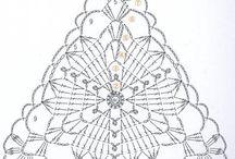 trójkąty - ażury