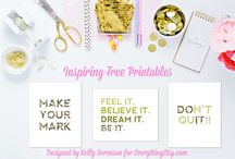 Free Printables / Grab some Free Printables for Business, Life, & Fun! If you would like to join this board, feel free to message me. Board Rules: Don't add anyone, but do share the board with friends. Don't spam the board. Only pin FREE printables.