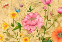 Birds, butterflies & Blossom