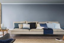 "Denim Drift / ""2017's palette is all about balance. This year, we see an interesting contrast between bolder, more striking colours and a selection of muted, lighter shades. The Colour of the Year is Denim Drift, a beautiful, timeless and versatile grey-blue that takes on a different characteristic depending on how it's used, perfectly capturing the mood of the moment and embodying our lives for 2017."" - Dulux"
