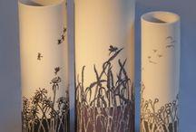 silindir vazo