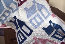 Quilt - houses