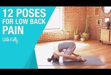 Yoga poses to improve back pain