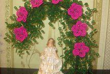 Damiano con rose di perline