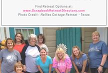 ScrapbookRetreatDirectory.com / Find over 175 Scrapbook Retreats - Easy to use directory by state and clickable maps.