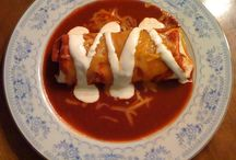 homemade burritoes / by Danielle Lunsford