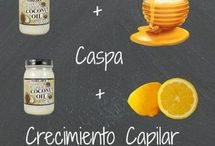 tratamiento capilar c aceite d coco