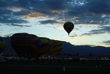 Hot Air Balloons / My own balloon pics, pics of beauty and joy pinned by others.