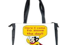 Mighty Mouse from Auntie Shoe / Here I come to save the day!!! Designs by your Auntie Shoe featuring our favorite cartoon, Mighty Mouse. See all the Mighty Mouse designs by your Auntie: http://www.cafepress.com/fanstasticgearmightymouse