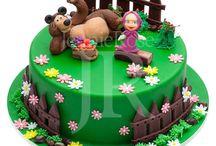 Cumpleaños Julieta Masha y el Oso
