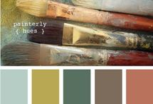 color schemes / by Liisa Fenech-Petrocchi