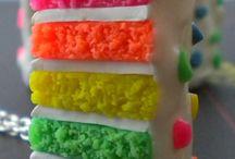 Bolos coloridos