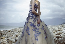 Coloured Wedding Dresses / Wedding dresses