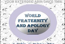 World Fraternity and Apology Day / World Fraternity and Apology Day has been celebrated on the 14th September to remind people that remaining united as brothers will bring about a significant change in the society.  https://www.linkedin.com/company/marm-assistance