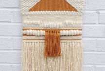 Wall Hangings / Woven Wallhangings and Maccramee