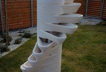 Strawberry tower / Vertical strawberry garden