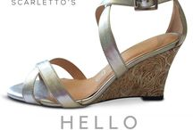 NEW Scarletto's Wedges