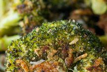 Parmesen roasted broccoli