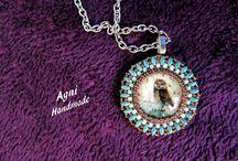 Beading biżuteria handmade / Ręcznie robiona (handmade) biżuteria z koralików (beading)