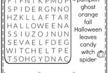 halloween work sheet