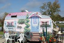 Camping Tiny / Campers, mostly tiny vintage cuz their cute! Enjoy pinning...no limit!   (^¿^)     / by Star Rainbow