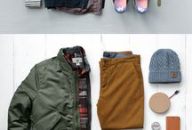Men fashion winter