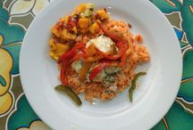 Cocina Las Palmas / The food, flavors and creations that come out of Las Palmas communal kitchen. Provecho!