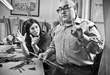 Master tailors working / Fiorella Ciaboco.  The real made in Italy.